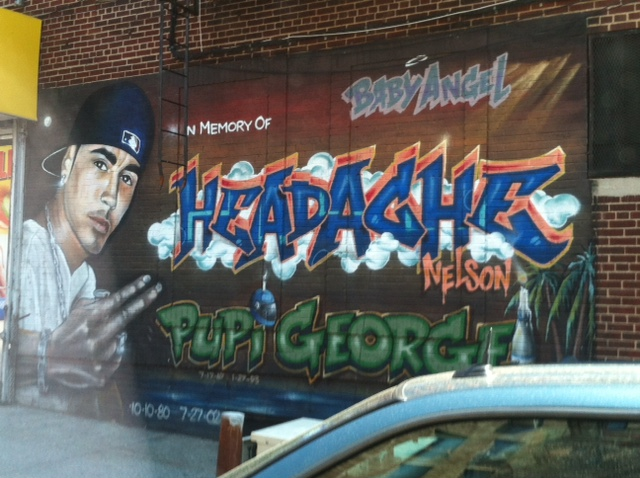 Graffiti Pupi George